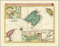 Balearic Islands Map By P. Kuffner