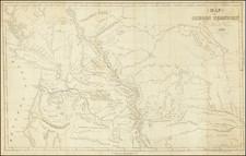 Utah, Rocky Mountains, Idaho, Montana, Utah, Wyoming, Pacific Northwest, Oregon and Washington Map By Samuel Parker