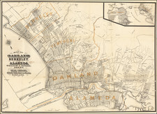 Other California Cities Map By Malcolm G. King