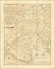 Germany Map By J. C. G. Fritzsch