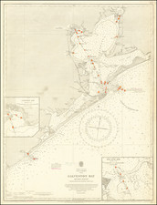 Texas Map By British Admiralty