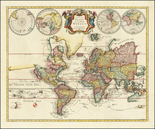 World and World Map By R&J Wetstein