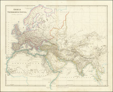 Europe, Middle East and North Africa Map By John Arrowsmith