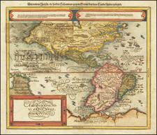 America Map By Sebastian Munster