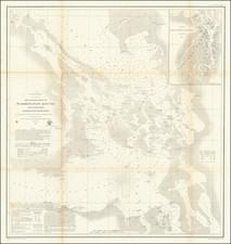 Washington Map By U.S. Coast Survey