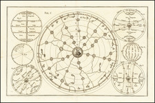 World, Curiosities and Celestial Maps Map By Heinrich Scherer