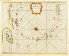 Caribbean Map By William Mount  &  Thomas Page