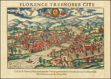 Other Italian Cities Map By Francois De Belleforest