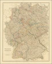 Germany Map By John Arrowsmith