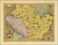 Polonia et Silesia   By  Gerard Mercator