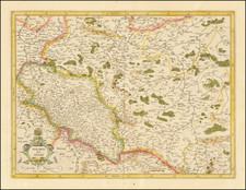 Poland Map By  Gerard Mercator