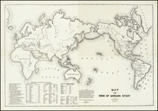 World and Utah Map By Vincy R. Barker