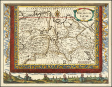 Russia in Asia Map By Johann Christoph  Wagner