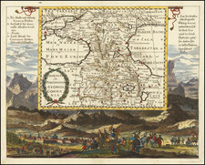 Russia, Persia and Turkey & Asia Minor Map By Johann Christoph  Wagner