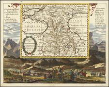 Russia, Persia & Iraq and Turkey & Asia Minor Map By Johann Christoph  Wagner