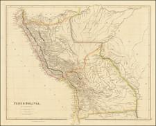 Peru & Boliva, By J. Arrowsmith By John Arrowsmith