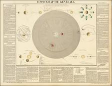 Celestial Maps Map By J. Andriveau-Goujon
