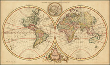 World Map By John Gibson / Thomas Salmon
