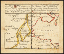 Delaware and Canada Map By Pierre Du Val