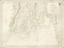 Thailand, Cambodia, Vietnam Map By British Admiralty