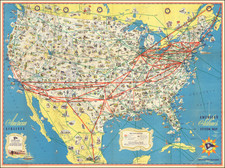 Map By American Airlines