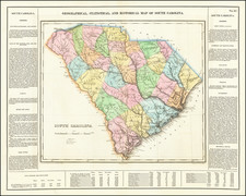 Map By Henry Charles Carey  &  Isaac Lea