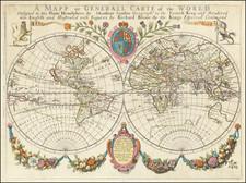 World Map By Richard Blome