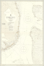 Florida and Bahamas Map By British Admiralty