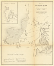 San Diego Map By George Derby