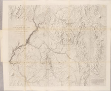 Arizona, Colorado, Utah, New Mexico, Colorado, Utah and Rare Books Map By John N. Macomb