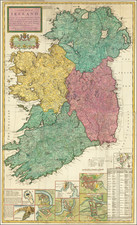 Ireland Map By Herman Moll