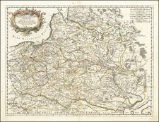 Poland Map By Giacomo Giovanni Rossi