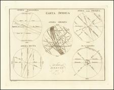 Celestial Maps Map By A.B. Borghi