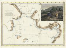 Alaska Map By James Cook - J. C. G. Fritzsch