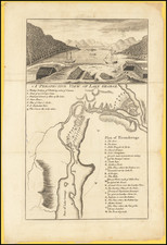 New York State Map By J. Hinton