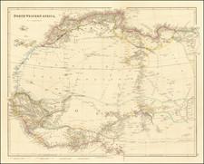 North Western Africa By John Arrowsmith