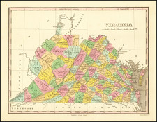 Southeast and Virginia Map By Anthony Finley