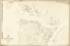 Chile Map By British Admiralty