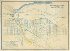 Idaho Map By Edna Dean Smith