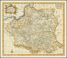 Poland and Baltic Countries Map By Thomas Kitchin
