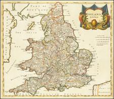 England Map By Robert Morden