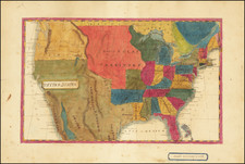 United States Map By Mary S. Messinger