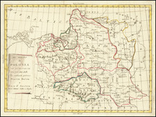 Poland Map By Antonio Zatta