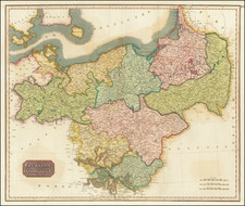 Germany, Poland and Baltic Countries Map By John Pinkerton