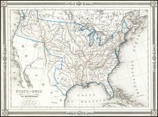 United States Map By Thunot Duvotenay