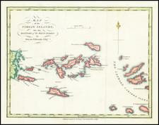 Virgin Islands Map By Bryan Edwards