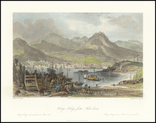 Hong Kong Map By Fisher & Son