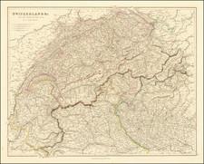 Switzerland Map By Aaron Arrowsmith