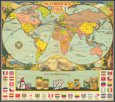 World and Pictorial Maps Map By McCormick & Company