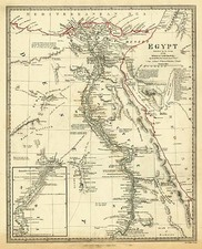 Asia, Middle East, Africa and Egypt Map By SDUK
